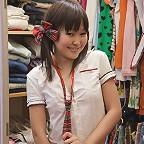 Cute alicia behind the scenes in her dressing room