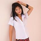 Sexy Thai school girl Kip posing for you!