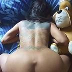 Tattooed Thai girl