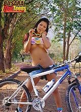 Babe Busara bike ride strip