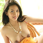 Thai Teen Christy Hunsa Knitting Strip