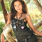 Thai Cutie Volk Saranya Stripping Black Dress