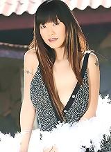 Breasty Cutie Jenny Lee Feather Boa Strip