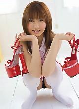 Asian model Kotone