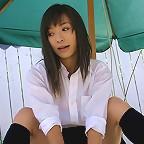Asian college girl