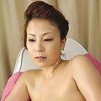 Mature Japanese model Yuki Aida posing naked